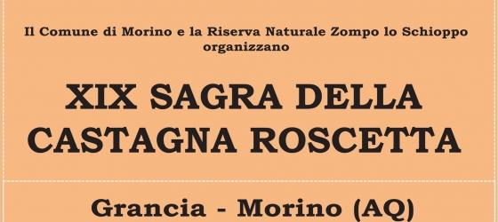 11-12 Ottobre – XIX SAGRA DELLA CASTAGNA ROSCETTA