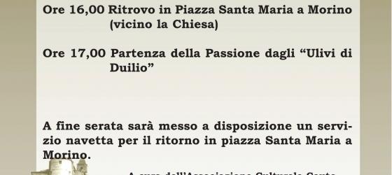 Passione vivente nel Borgo di Morino Vecchio 29 Marzo 2015 Morino Vecchio (AQ)