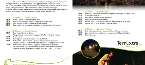 Festival Ambient'arti – Fuga dalla città… un weekend a Morino