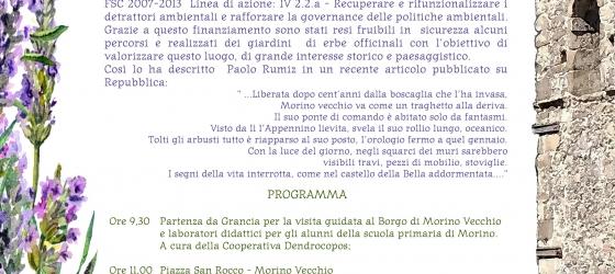 Borgo Rifiorito – Inaugurazione dei lavori, Morino Vecchio, 11 Maggio 2019