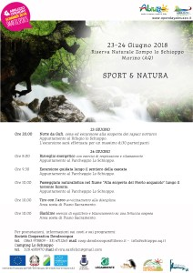 programma Opendaysummer2018 - Sport&Natura