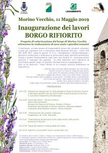 invito Inaugurazione borgo rifiorito 11 maggio 2019